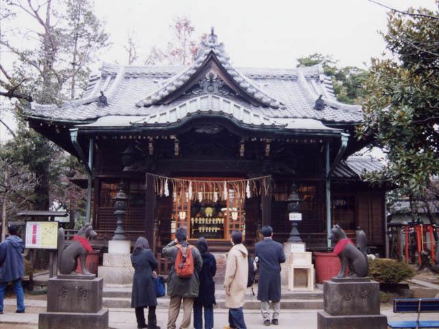 隅田川七福神・三囲神社