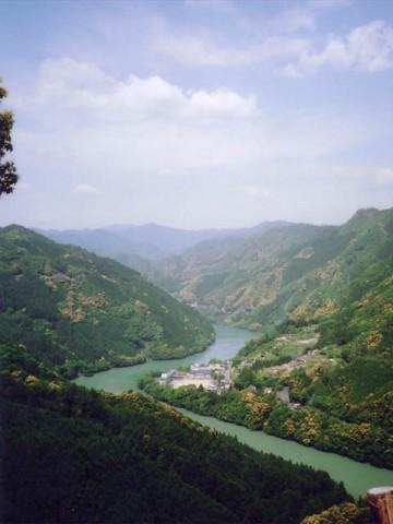 奈良県十津川村