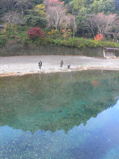 朝の川湯温泉