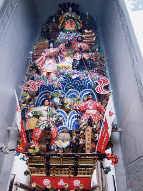 櫛田神社「飾り山」