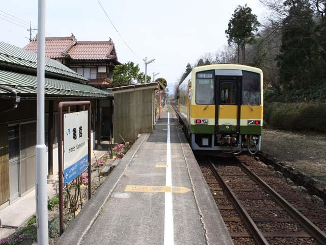 JR木次線亀嵩駅