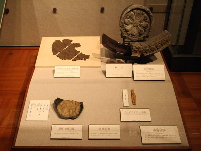 漆紙文書@東北歴史博物館