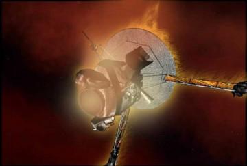 Galileo's End Image Credit NASA