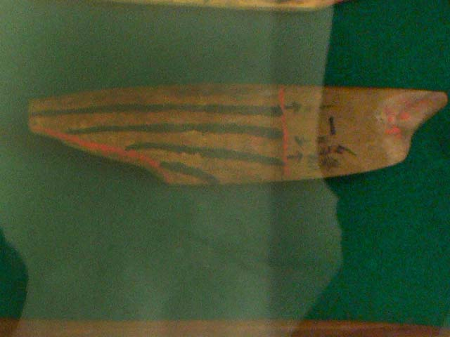 カツオブシの模型