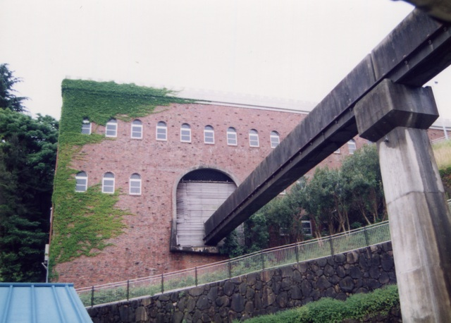 姫路・旧モノレール駅舎