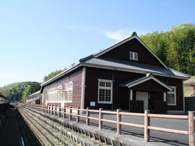 旧宇和町小学校第二校舎@宇和米博物館