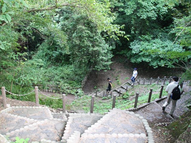 笠山(火口)
