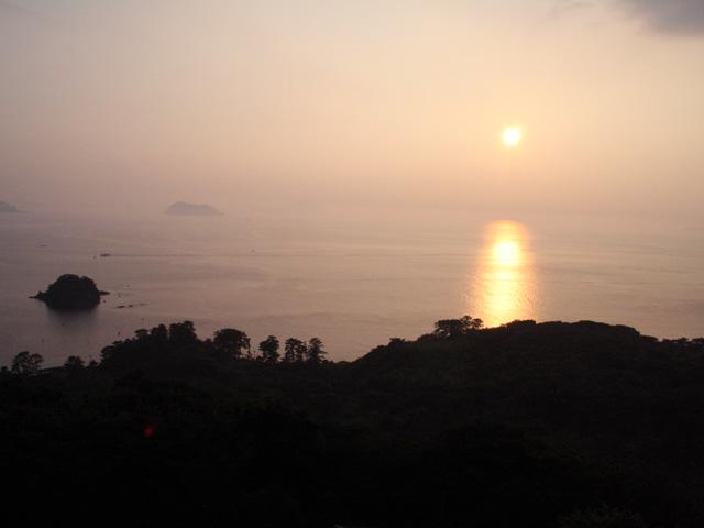 笠山(山頂からの眺め)