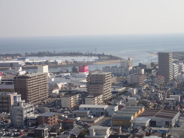 三重県津市の海岸部