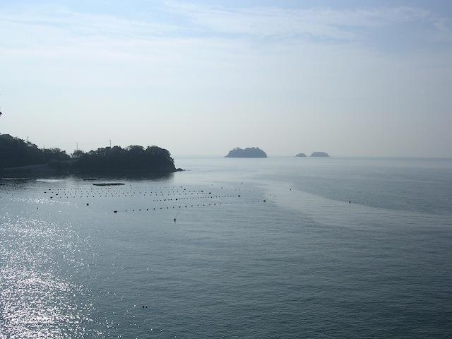 室津(賀茂神社境内からの眺め)