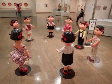 平塚市美術館「ペコちゃん」展