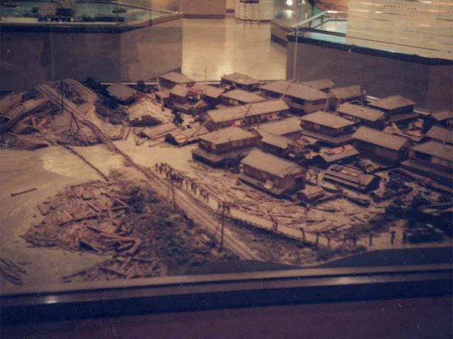 名古屋港海洋博物館(伊勢湾台風のジオラマ)