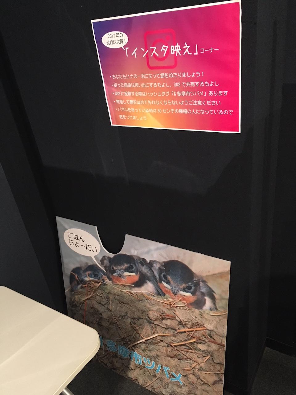 パルテノン多摩 歴史ミュージアム「多摩市ツバメ調査から見た地域」展