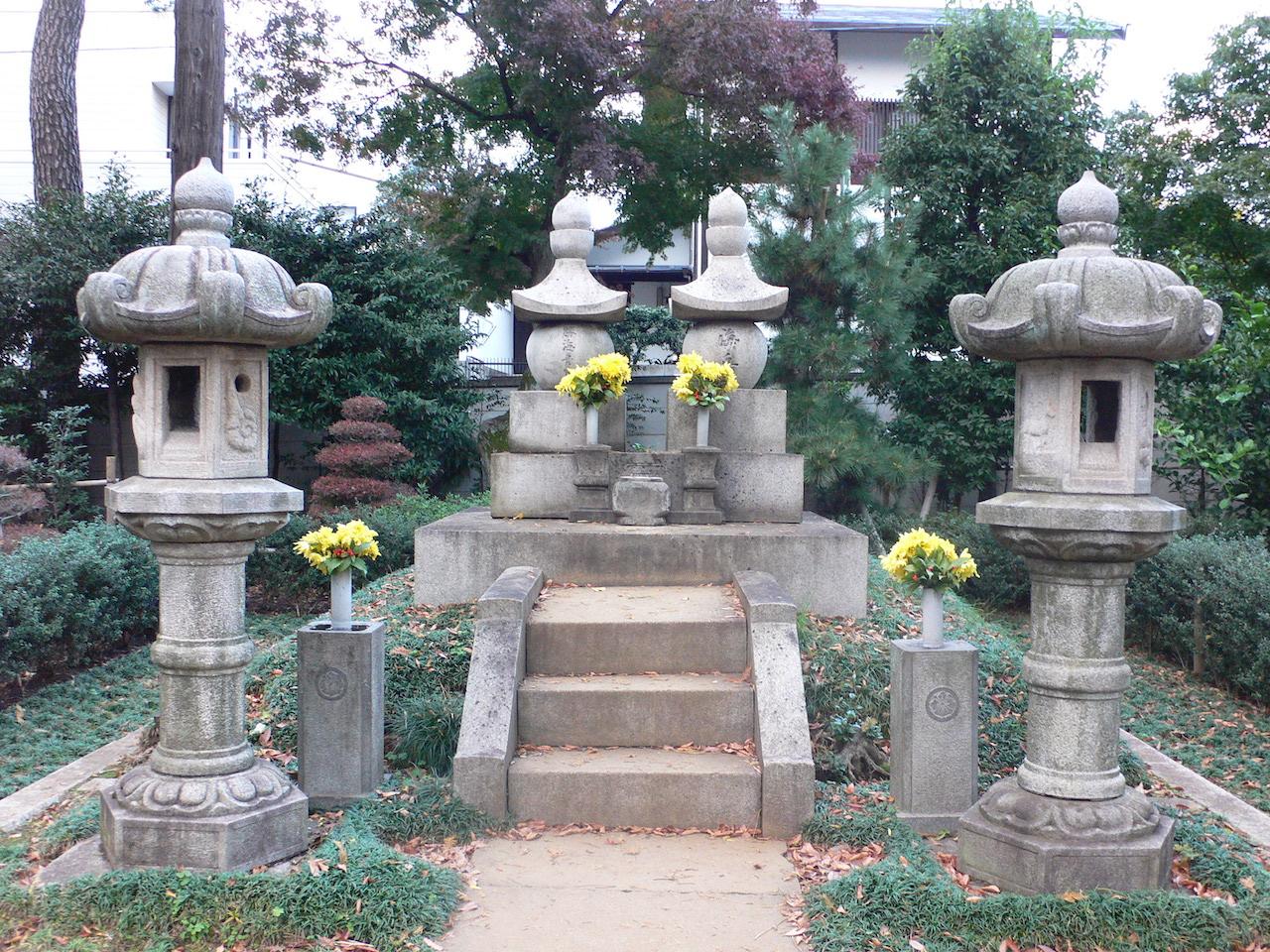 勝海舟墓所(東京都大田区)