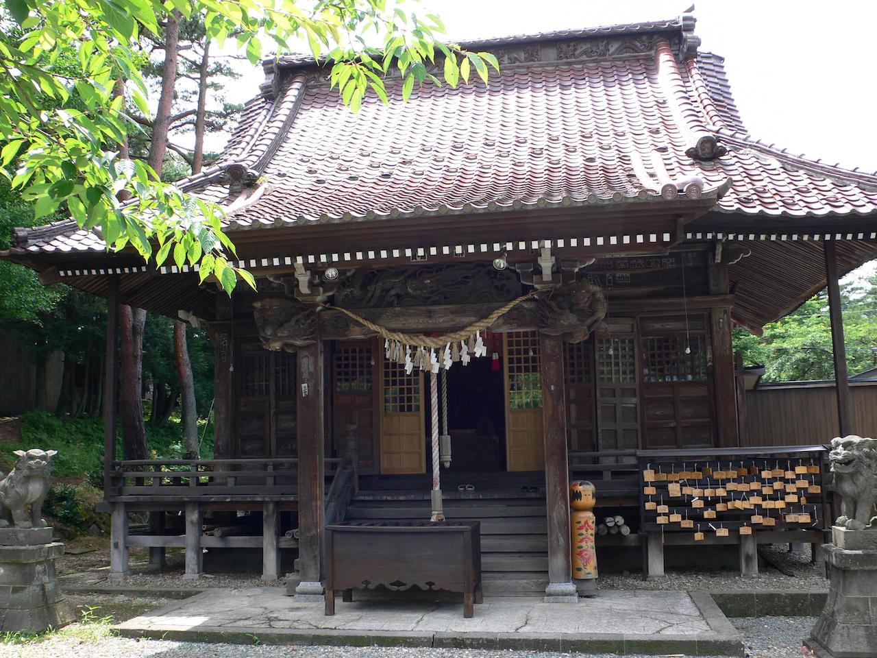 鳴子温泉・温泉神社